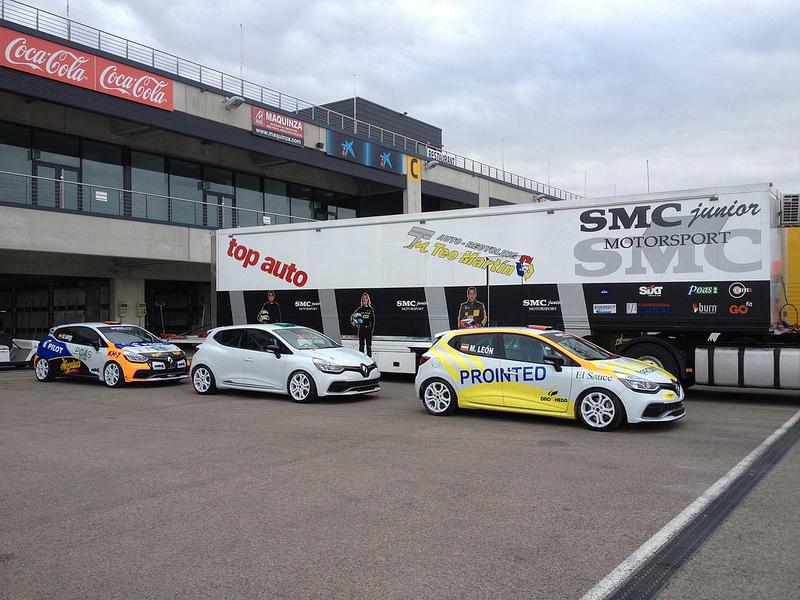 Test Eurocup Clio 2013 Motorland Aragón